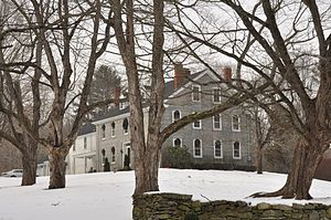 Nathan C. Aldrich House and Resthaven Chapel - Image: Milford MA Aldrich House
