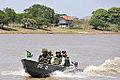Militares do 6º DN patrulham o rio Paraguai durante a Operação Ágata 6 (8091568840).jpg