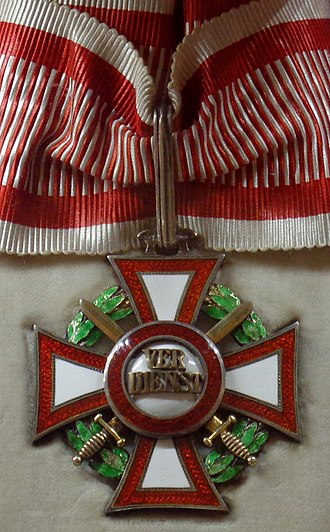 Military Merit Cross (Austria-Hungary) - Military Merit Cross 2nd Class with War Decoration and Swords