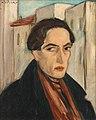 Mimis Vitsoris selfportrait oil on canvas 55x45cm-nodate.jpg