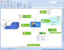 Mindmanager 8 screenshot