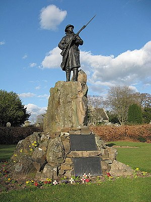 Thomas J Clapperton - Minto War Memorial by Thomas Clapperton