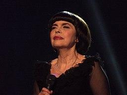 Mireille Mathieu à Lille - 14 novembre 2014