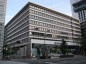 Mitsubishi Motors - Mitsubishi Motors Headquarters building in Shiba, Minato