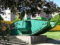 Mk V tank in summer in Lugansk.jpg
