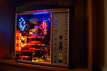 Computer with 2-way SLI Graphics Cards Installed