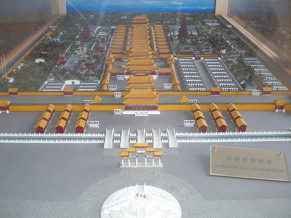 Model-of-palace-of-heavenly-kingdom