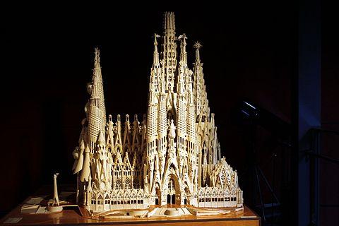 Model of La Sagrada Familia Museum of the History of Catalonia Catalonia