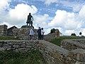 Moelfre - Coxswain Dic Evans Memorial - geograph.org.uk - 1436439.jpg