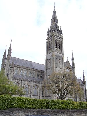 Bishop of Clogher - The Cathedral Church of Saint Macartan, Monaghan, the episcopal seat of the Post-Reformation Roman Catholic bishops.