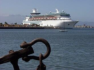 Port of Ensenada - Image: Monarch of the Seas in Ensenada