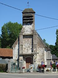 The church of Moncheaux-lès-Frévent