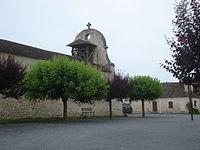 Monfaucon (Dordogne, Fr), church.JPG