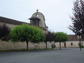 Monfaucon (Dordogne, Fr), church.JPG