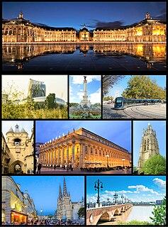 Bordeaux Prefecture and commune in Nouvelle-Aquitaine, France