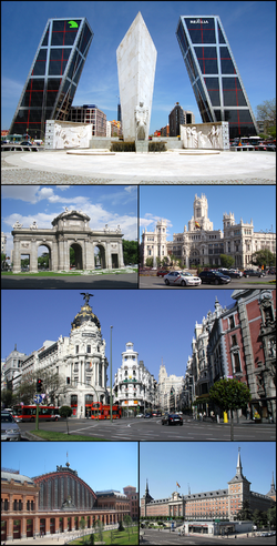 Madrid Collage.