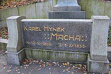 Monument Karel Hynek Mácha Prague 3.jpg