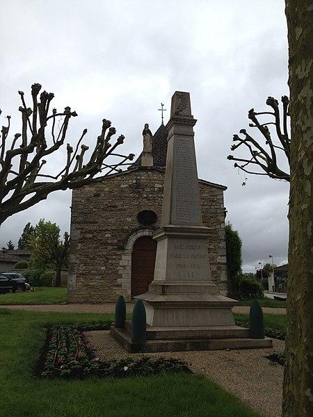 Monument aux morts de Saint-Maurice-de-Gourdans.