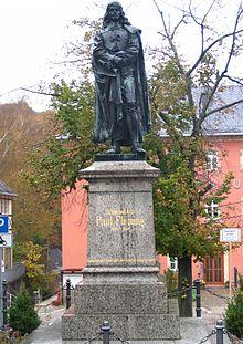 Fleming-Denkmal in Hartenstein (Quelle: Wikimedia)