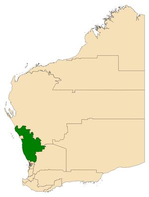 Electoral district of Moore - Image: Moore WA 2017
