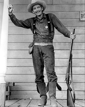 Morgan Woodward - Woodward as deputy Shotgun Gibbs from The Life and Legend of Wyatt Earp, 1959