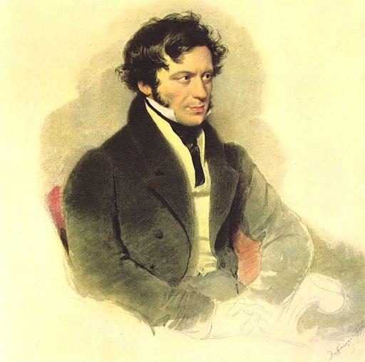 Moritz Michael Daffinger - Franz Grillparzer