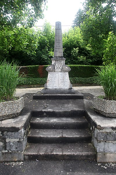 Monument aux morts de Morre (Doubs).