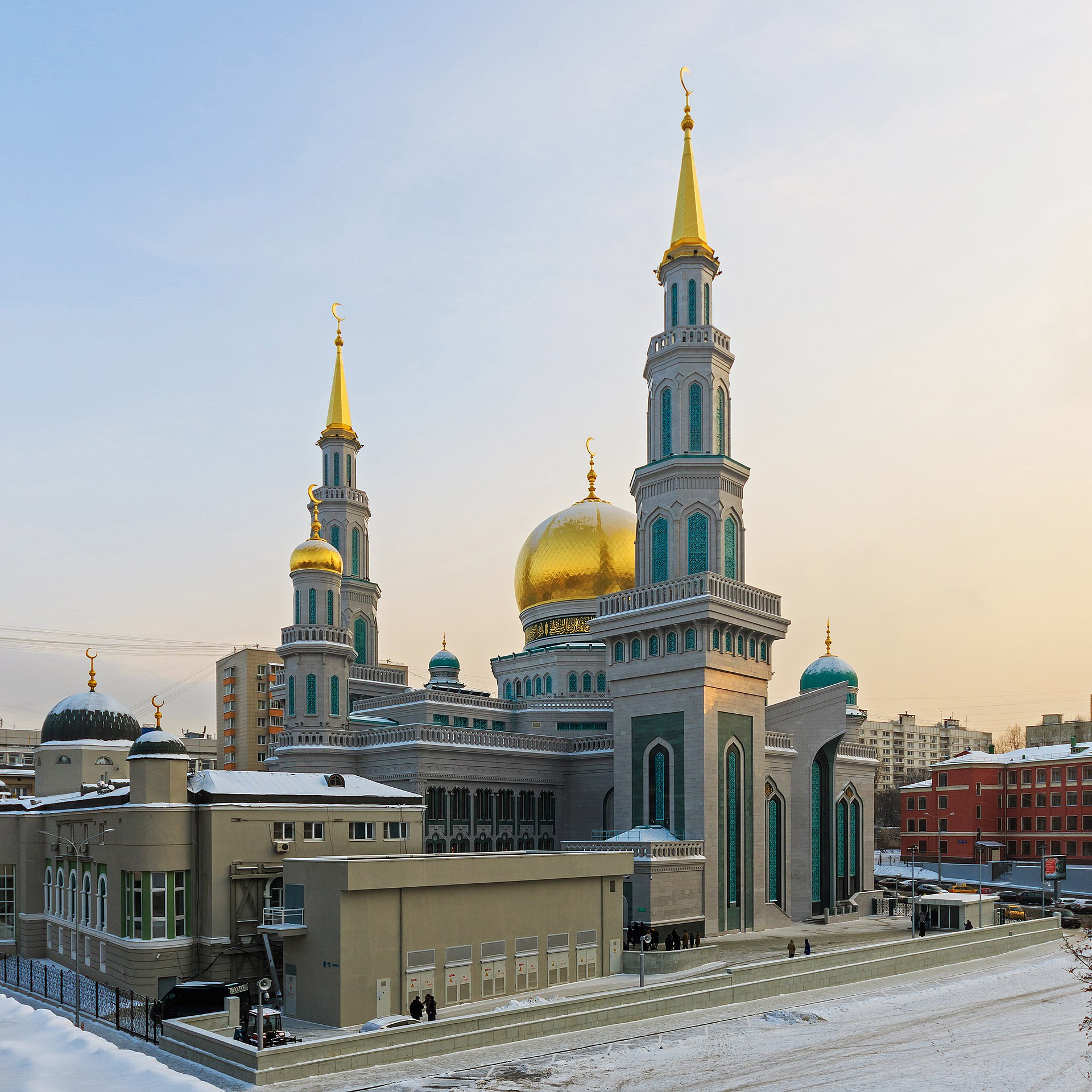Moscow Cathedral Mosque - Wikipedia