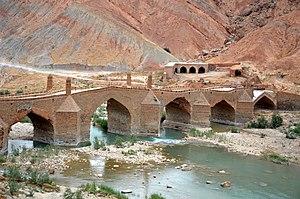 Dalaki - Image: Moshir Bridge (Dalaki) Borazjan Iran