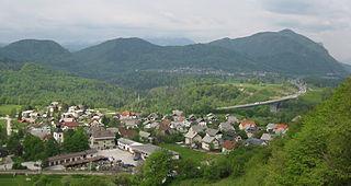 Moste, Žirovnica Place in Upper Carniola, Slovenia