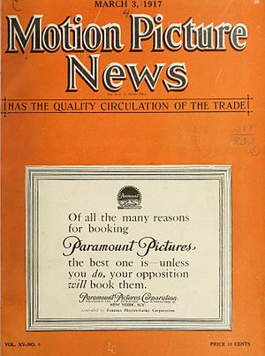 Motion Picture News - Cover from March 1917
