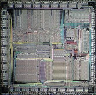 MC88100 - Motorola MC88100 die
