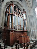 Moulins (France), cathédrale, grand orgue Merklin, buffet.JPG