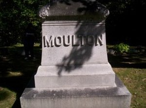 Samuel W. Moulton - Image: Moulton Grave 1