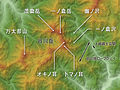 Mount Tanigawadake Relief Map, SRTM-1 (Japanese).jpg