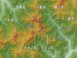 Mount Tanigawadake Relief Map, SRTM-1 (Japanese).jpg