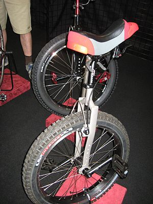 Unicycle - Off-road unicycles.