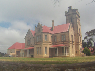 Alexander Hay (South Australian politician) - In 1879, Hay commissioned the Mt Breckan mansion.