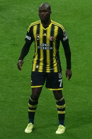 Moussa Sow - Sow playing for Fenerbahçe in 2014