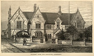 Louisa Daniell - The Soldiers' Home and Institute in 1877