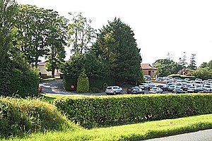 Mullingar Golf Club car park - geograph.org.uk - 892457