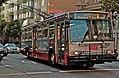 Muni route 3 trolleybus, July 2012.jpg