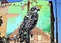 Mural 3D na kamienicy przy ul. Kilińskiego w Łodzi - ptak.jpg