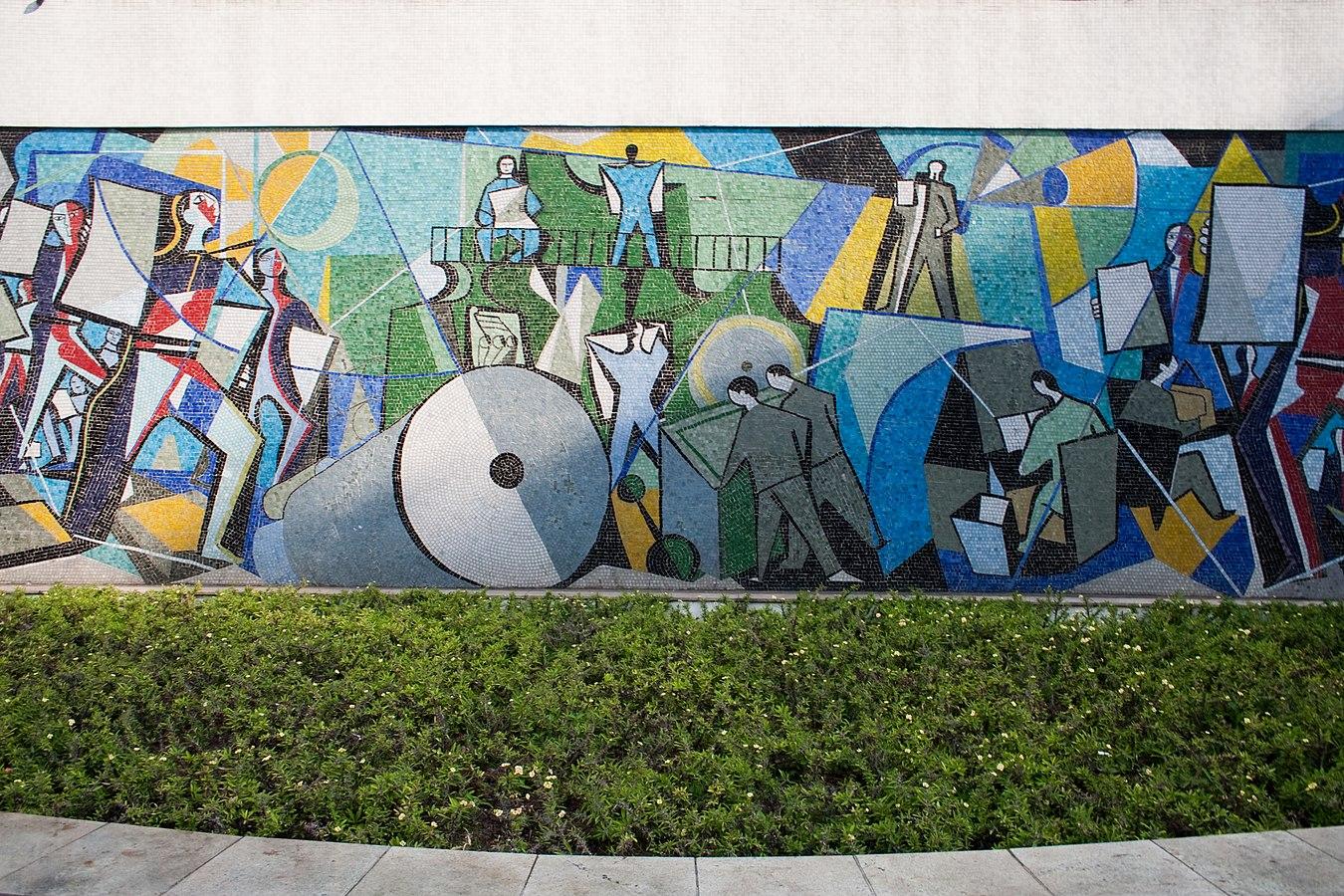 Novotel Jaraguá mural