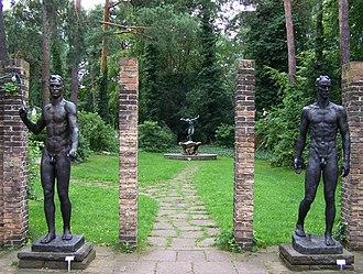 Georg Kolbe - Image: Museumsgarten