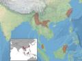 Myotis montivagus distribution (colored).png