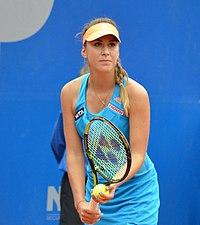 Nürnberger Versicherungscup 2014 - 1.Runde - Belinda Bencic 16 cropped.jpg