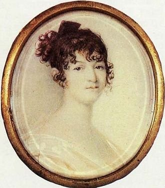 Alexander Pushkin - His mother Nadezhda Gannibalova