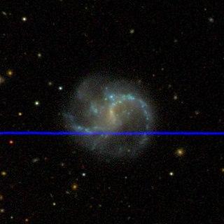 spiral galaxy in the constellation Cetus