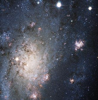 NGC 2403 - A Hubble Space Telescope (HST) image of NGC 2403 Credit: HST/NASA/ESA